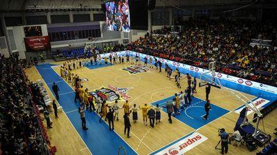 (FOTO) Superbet All Star Game–ul masculin:  Sudul bate Nordul. Junii Sibiului, printre juc?tori