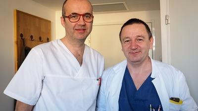 Dr. Chicea și dr. Valentin Voiasciuc  © Razvan NEGRU