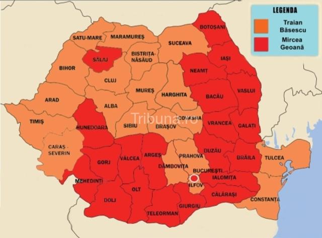 Harta Votului In Romania Stirile De Pe Strada Mea Tribuna