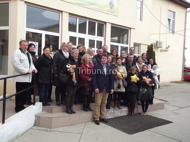 Cadre didactice din şapte ţări în vizită la Primăria Avrig