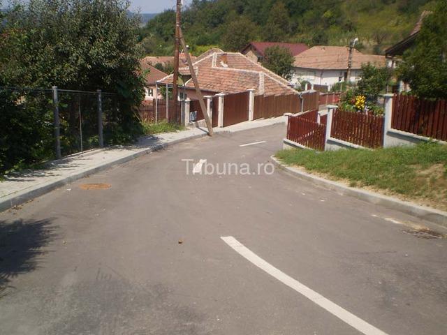 Asfaltare finalizată pe două străzi din Mediaş