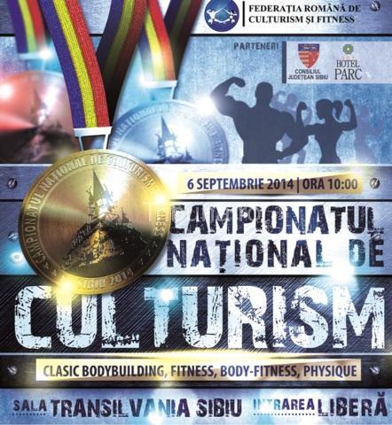 Campionatele Naționale de culturism și fitness, la Sibiu