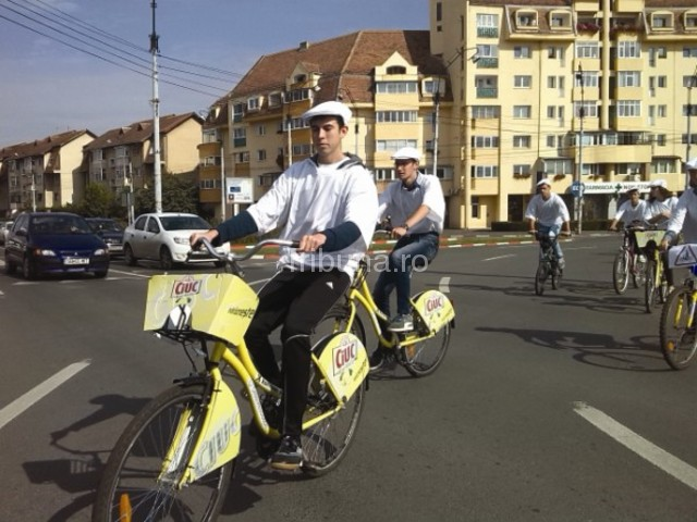 Poliţişti pe bicicletă