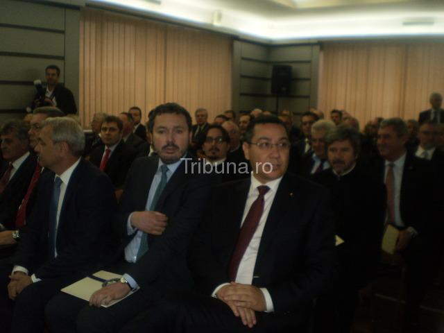 Premierul Victor Ponta, la aniversarea celor 100 de ani ai Transgaz Mediaș