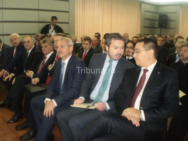 Premierul Victor Ponta, la aniversarea celor 100 de ani ai Transgaz Mediaş