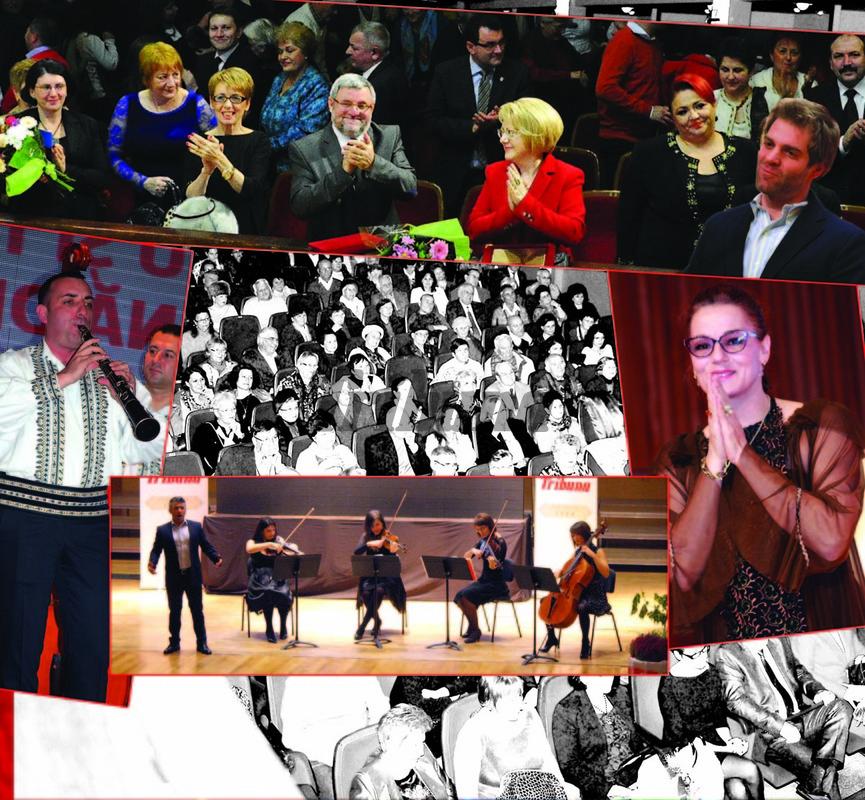 FOTO/ VIDEO: Tribuna, 130 de ani, sute de prieteni şi mari artişti