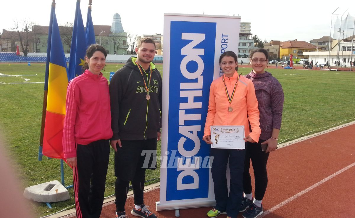 Trei medalii pentru Radu Ghiniţă, la Naţionalele de iarnă