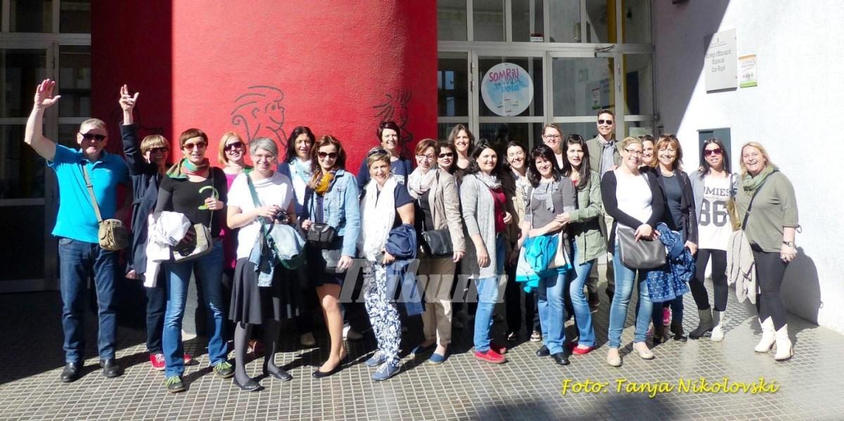 Profesori de la CSEI Nr. 1 Sibiu, într-un proiect Erasmus+, în Spania