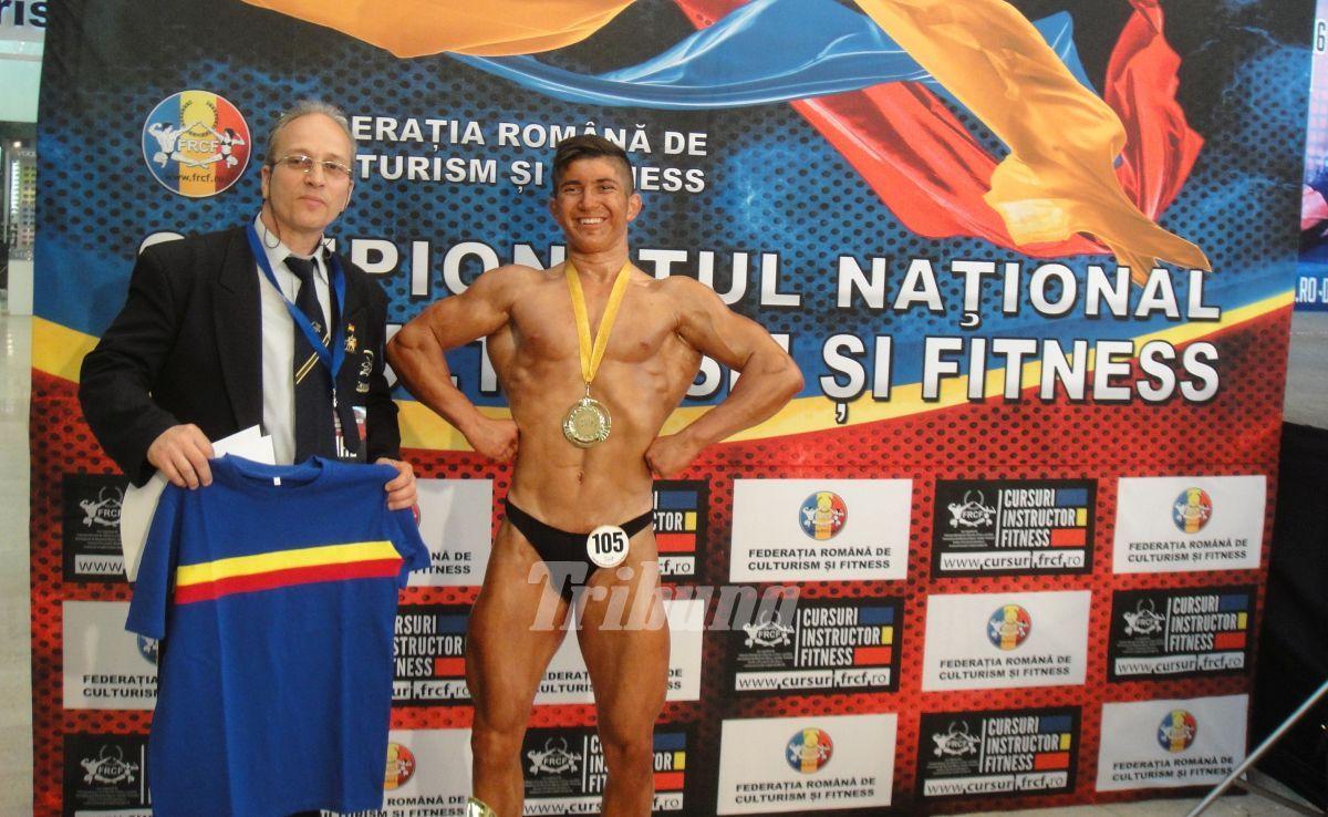 David Dinculete, campion național la culturism