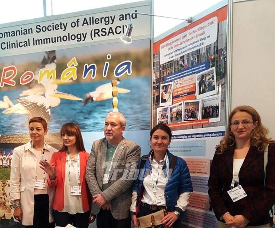 Medicul Corina Porr, la congresul anual al Academiei Europene de Alergie și Imunologie Clinică
