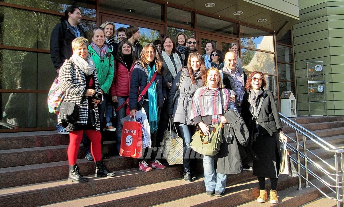 20 de profesori străini vizitează Centrul Şcolar de Educaţie Incluzivă din Sibiu