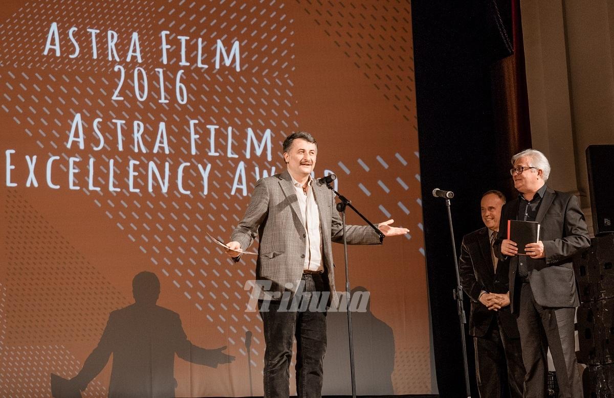 Gala Astra Film Festival 2016. Cristi Puiu a primit Premiul de Excelenţă: