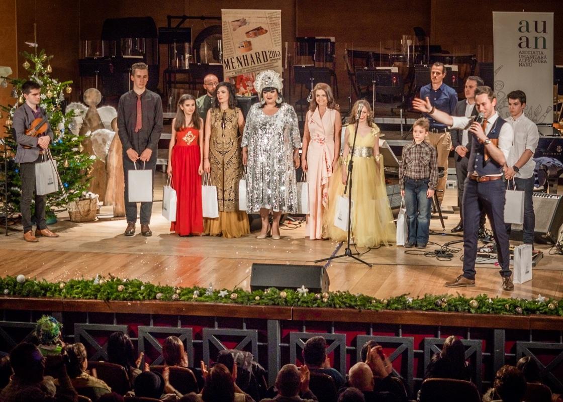 Ozana Barabancea, Radu Nechifor și Maria Cojocaru au cântat pentru AUAN