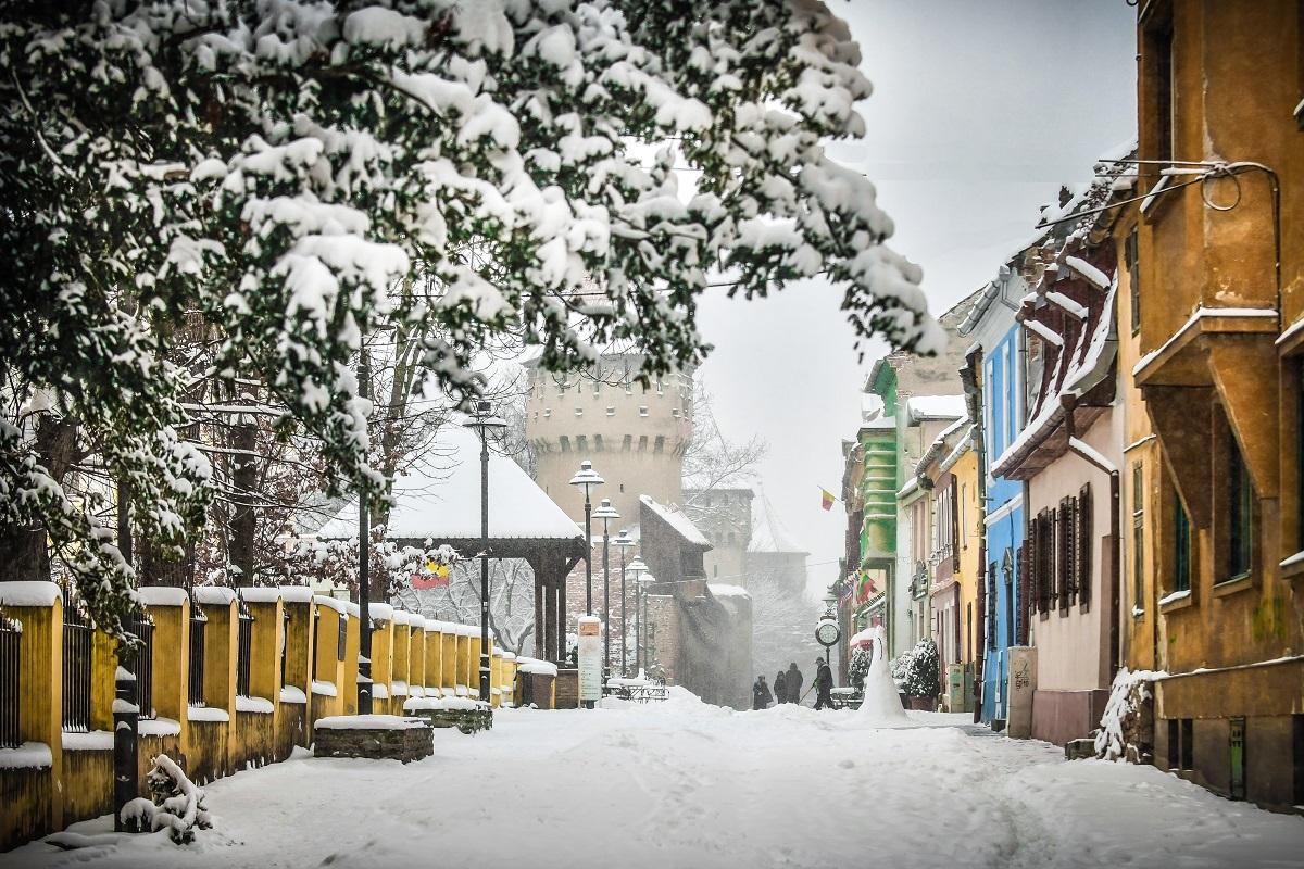 Atât de frig nu a mai fost de 48 de ani! În Sibiu s-au înregistrat -29 de grade Celsius