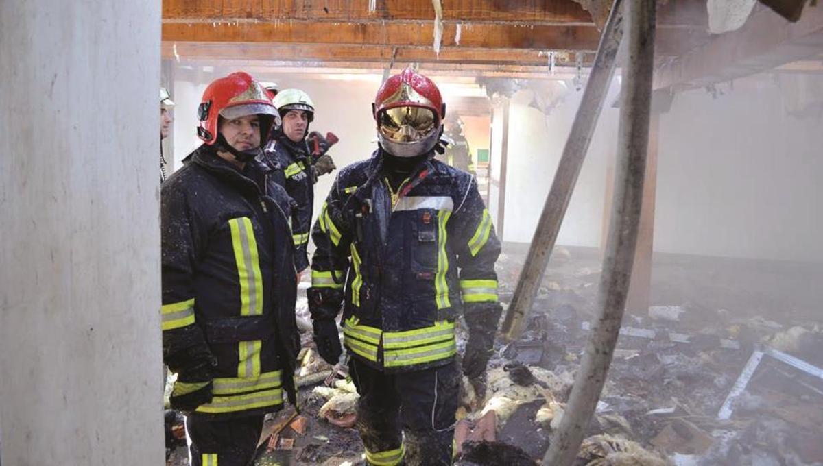 Intervenţii ale pompierilor sibieni la temperaturi extreme de –29 grade Celsius