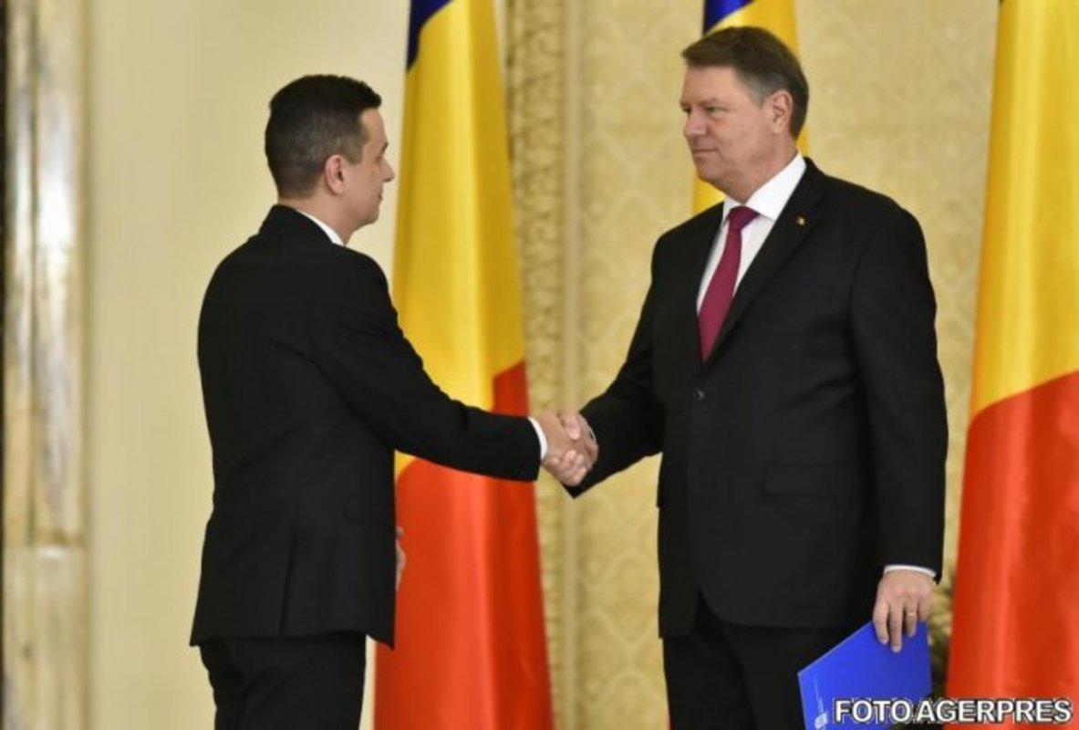 Klaus Iohannis, după întâlnirea cu premierul Grindeanu: țintă de deficit și bani pentru apărare