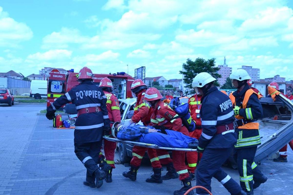 Alt accident pe Şoseaua Alba Iulia