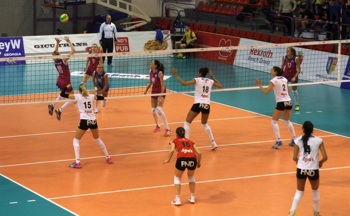 Alba Blaj, învinsă la Sibiu de Dinamo Krasnodar în grupele Ligii Campionilor