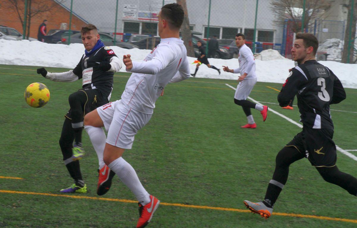 Remiză în al doilea amical cu Unirea Alba Iulia