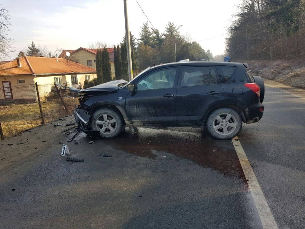 Accident rutier la ieșirea din Mediaș, pe DN 14
