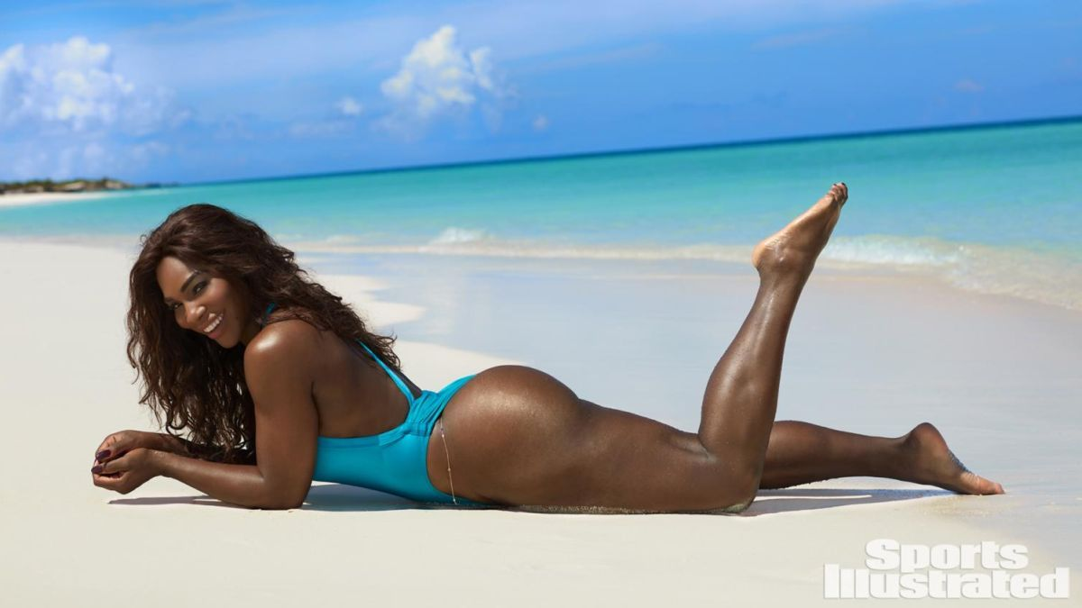 Serena Williams a pozat topless în Sports Illustrated