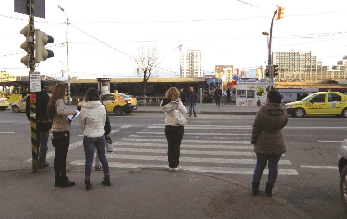 Probabil cea mai ciudată (şi enervantă) trecere de pietoni din Sibiu