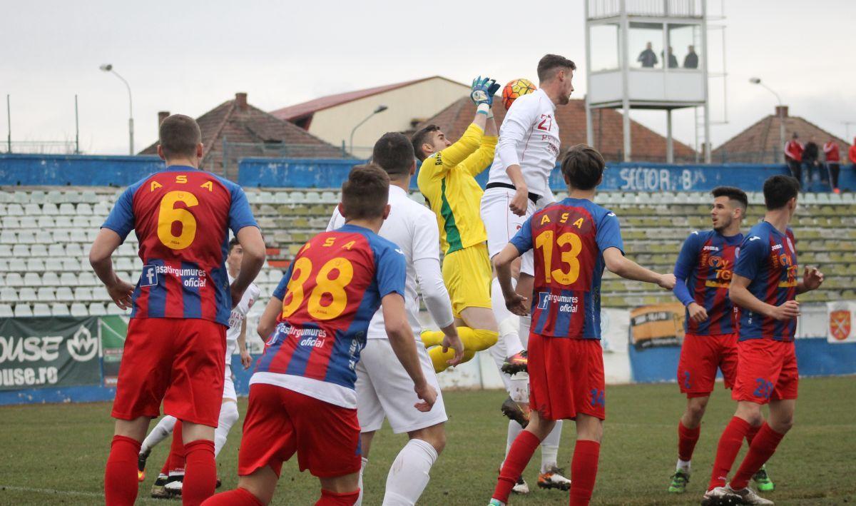 FC Hermannstadt - ASA II Tg. Mureş 0-1: ASA, nu! Când e să ai ghinion...
