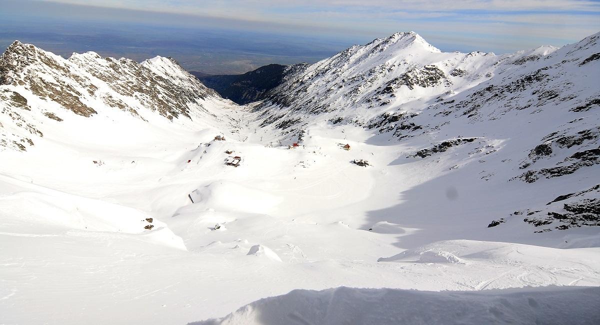 Risc mare de avalanșă în Munții Făgăraș