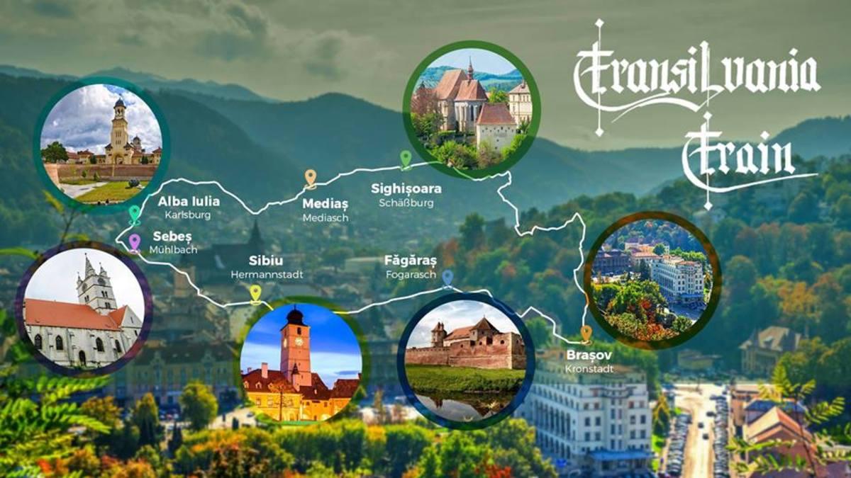 Transilvania Train - călătorie pe 40 de roți prin inima Transilvaniei, cu popas la Sibiu