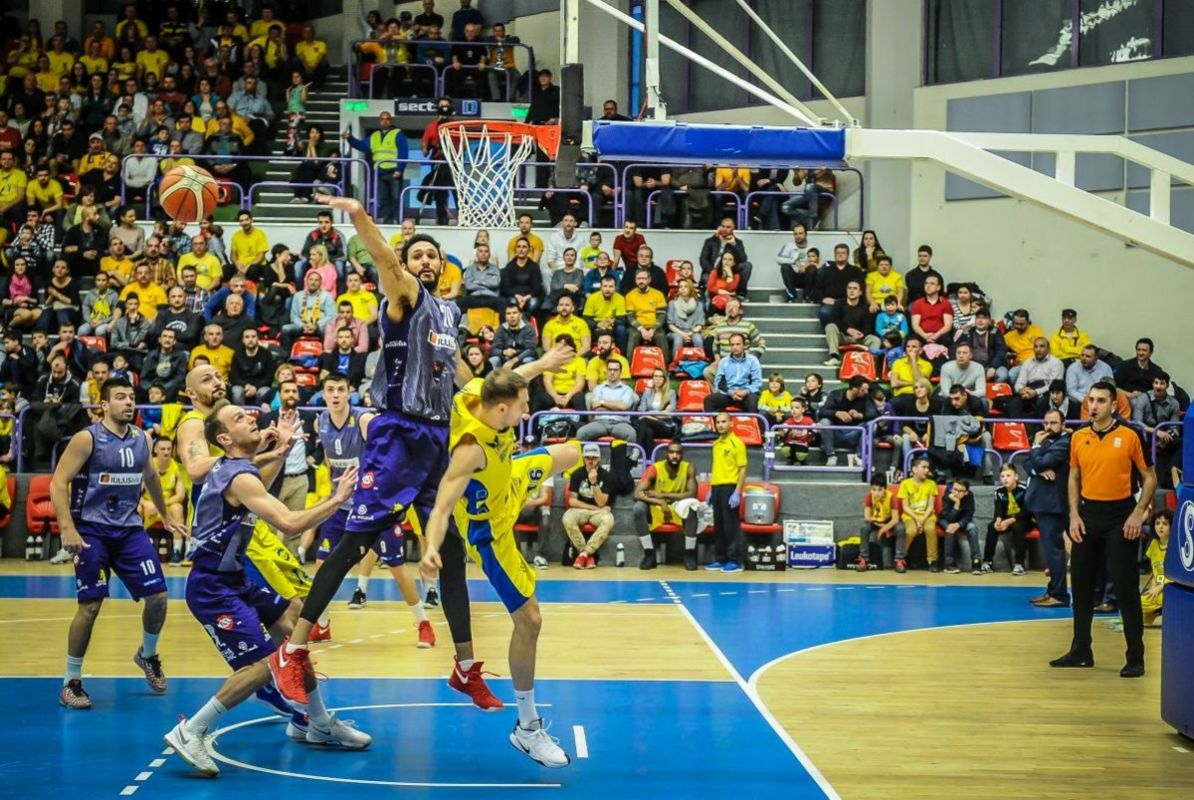 BC SCM Timișoara - BC CSU Sibiu: A treia deplasare consecutivă