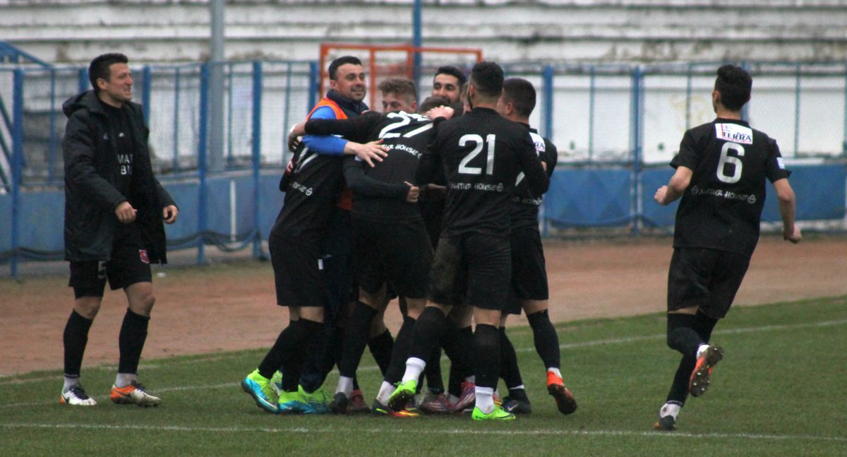 Recolta Dorolţ - FC Hermannstadt 1-3 / Setări noi: trei goluri pe meci!