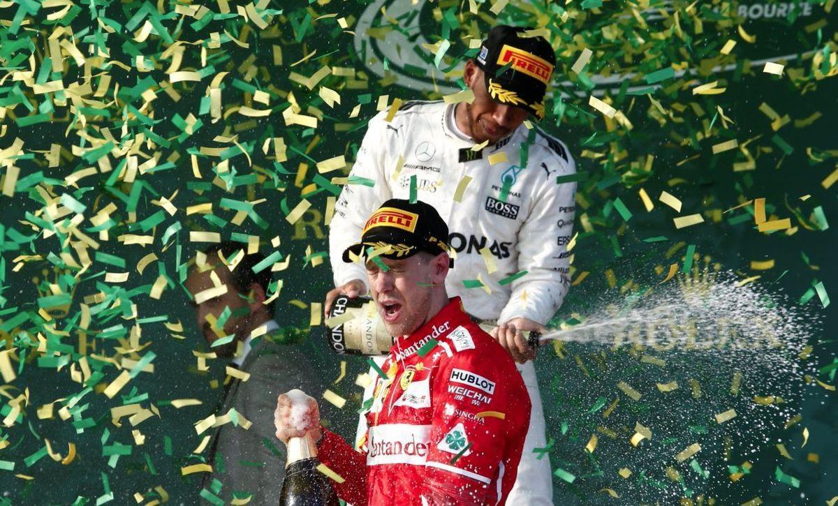 Vettel, primul lider