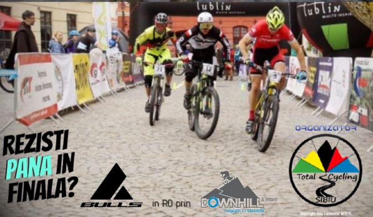 Ciclism montan în... centrul Sibiului