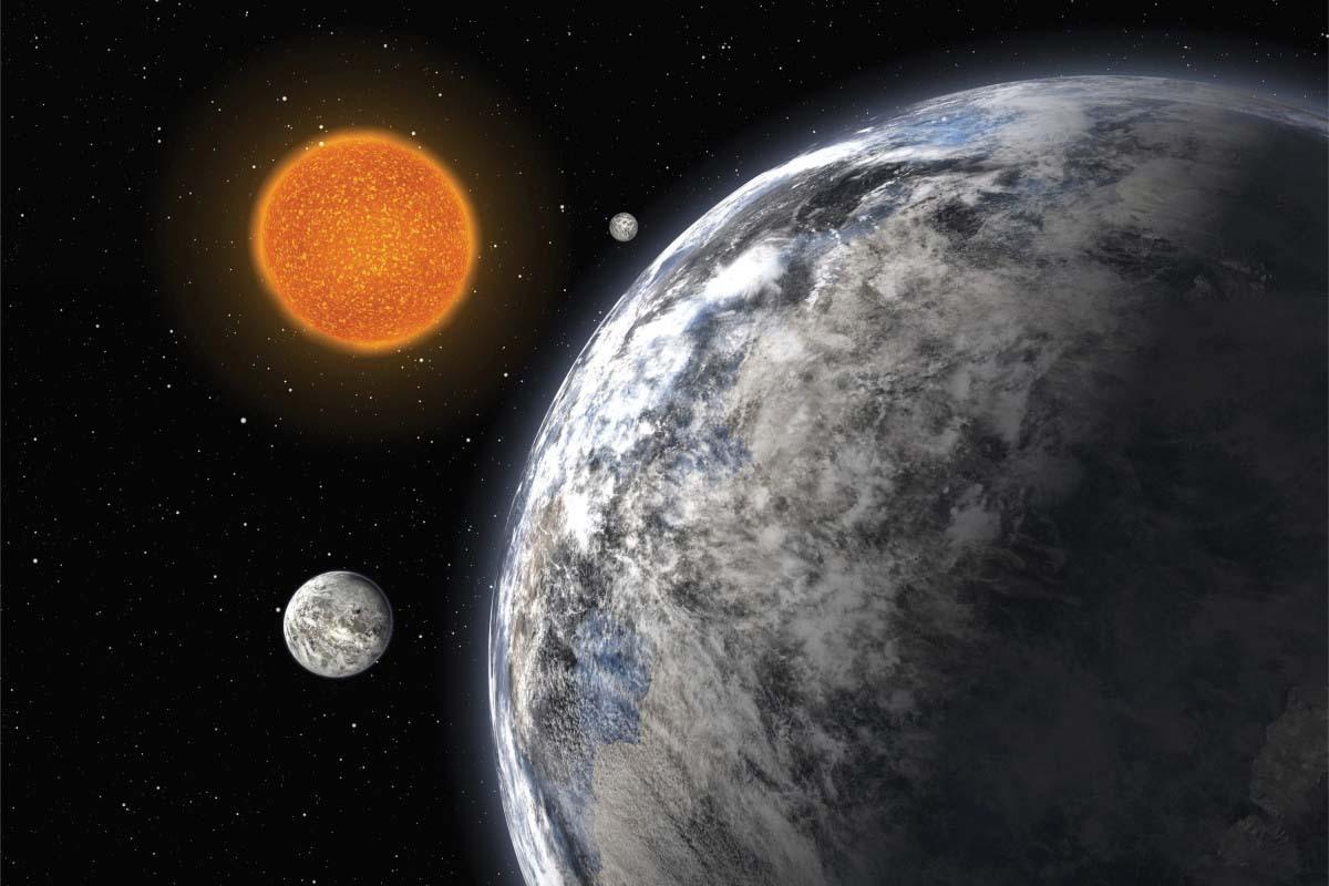 Astronomii au descoperit o exoplanetă cu atmosferă. Are mărimea Pământului!