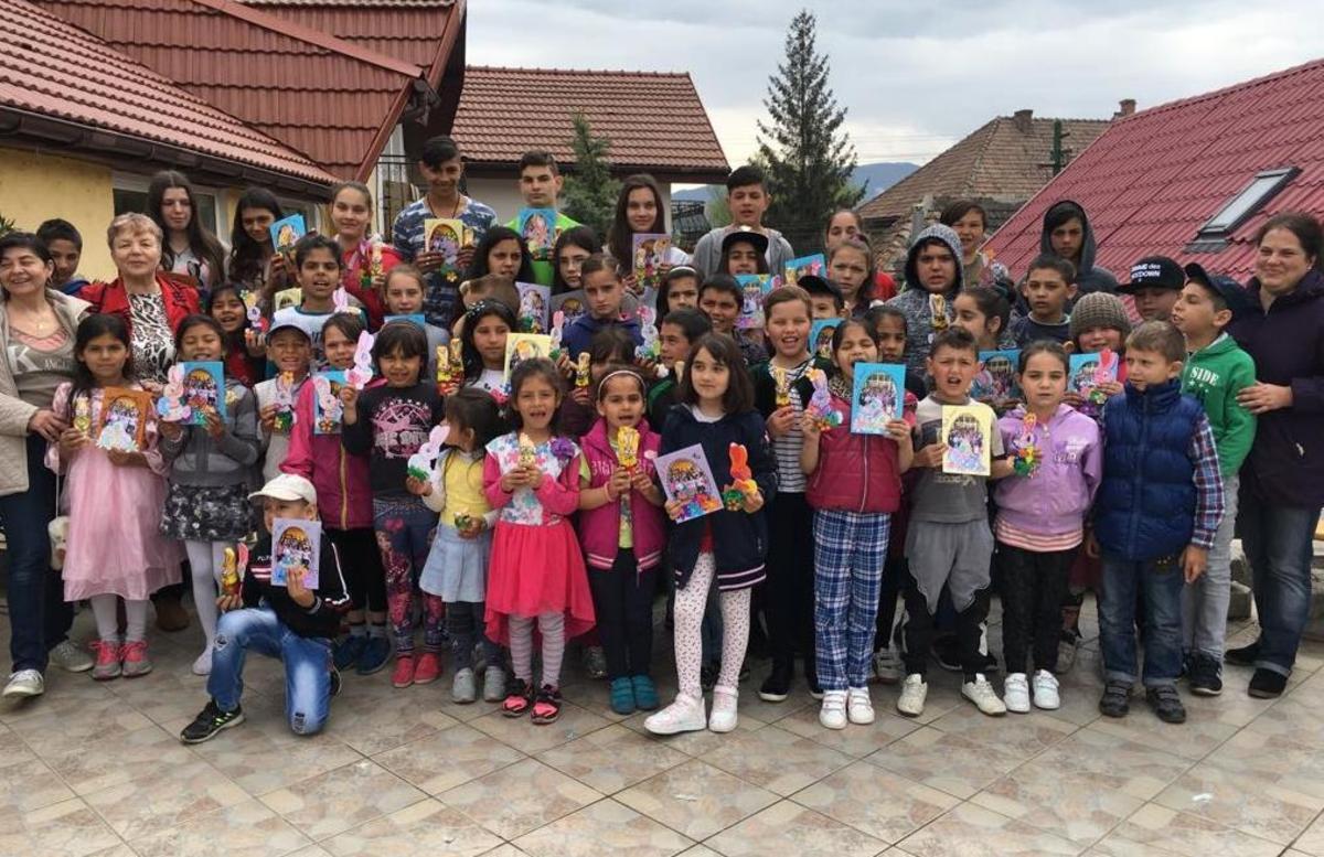 Sărbători mai frumoase pentru zeci de familii nevoiaşe din Cisnădie