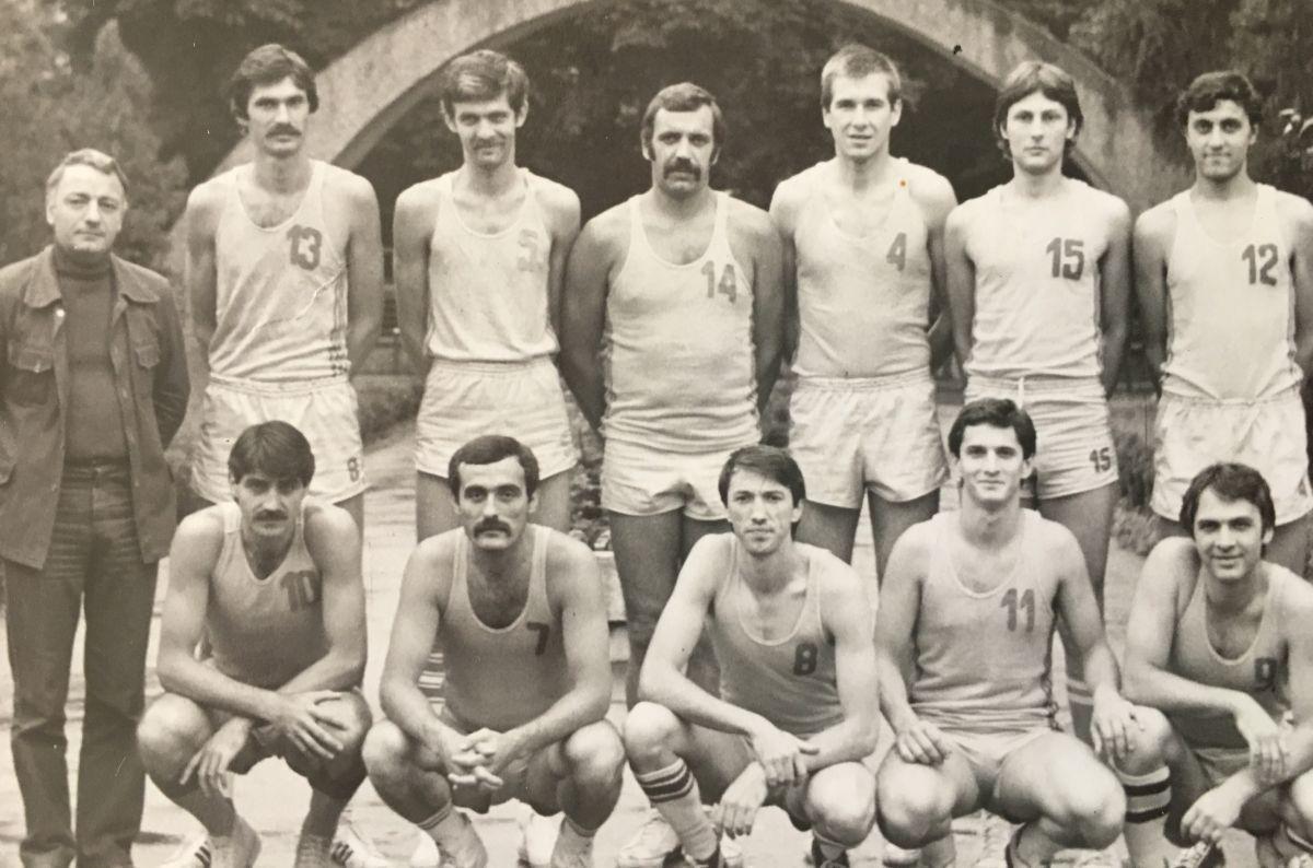 Echipa de baschet CSU Sibiu - 40 de ani de la promovarea în prima divizie