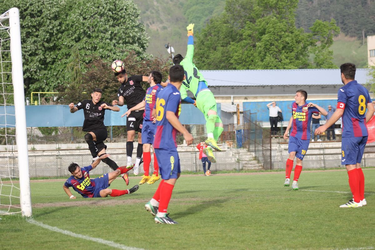 Metalurgistul Cugir - FC Hermannstadt 0-1: BLITZKRIEG