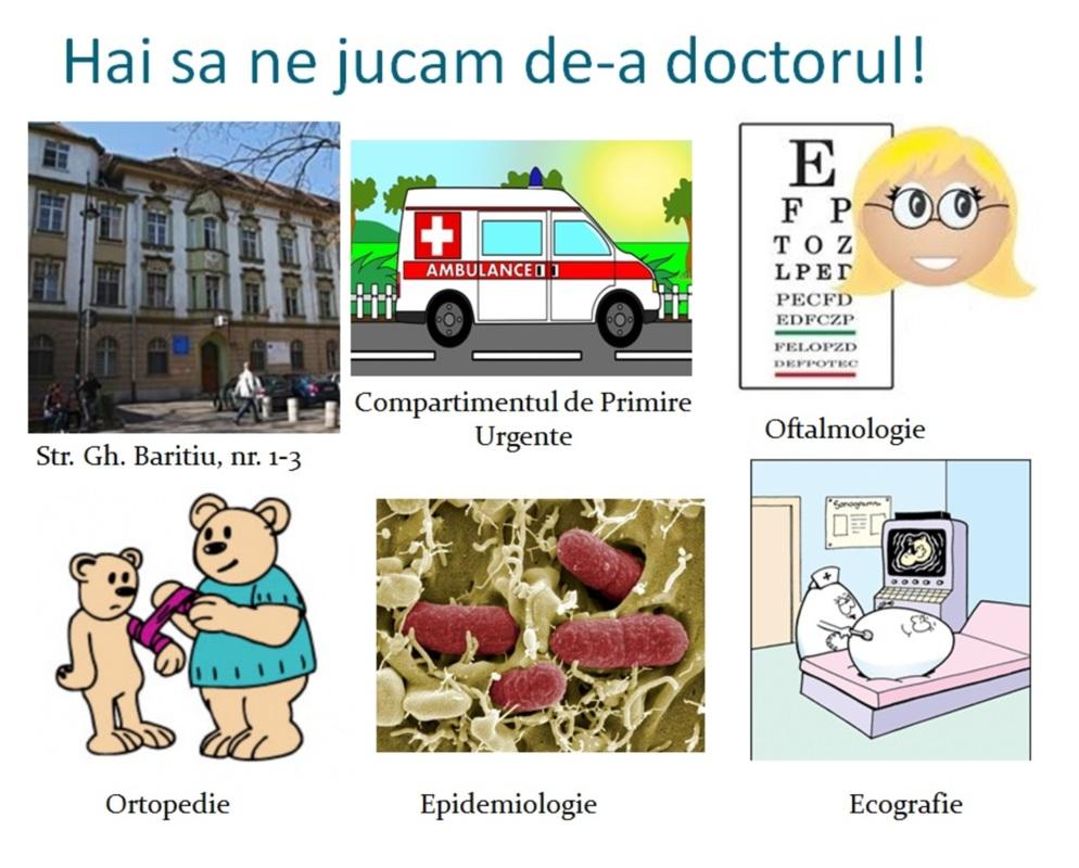 Ziua porților deschise la Spitalul Clinic de Pediatrie:
