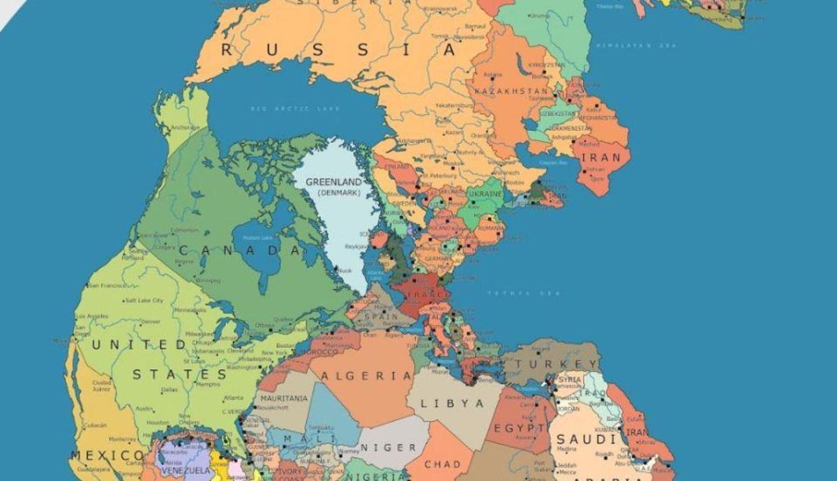 Cine ne-ar fi fost vecini acum 300 milioane de ani. România ar fi avut ieşire la ocean!