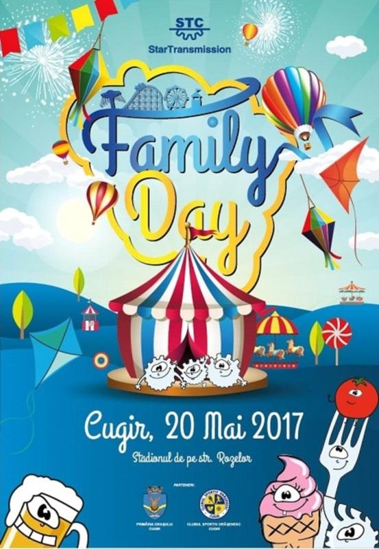Family Day by STC in 20 mai, pe Stadionul din Cugir. Mega-concert cu Carla's Dreams, Feli si Holograf