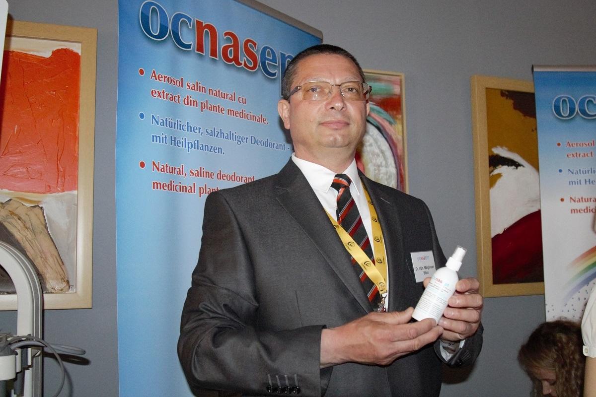 Ocnasept, un produs 100% sibian, prezentat medicilor ORL din țară și străinătate