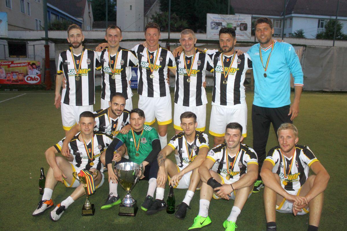 Campionatul Regional Sud-Vest la minifotbal: Sibienii şi-au aflat adversarii. În ce condiţii pot ajunge în Liga Campionilor!