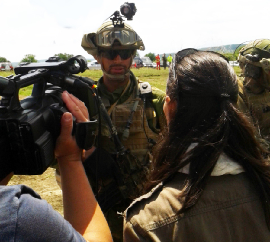 5.000 de militari NATO s-au antrenat la 70 de kilometri de Sibiu