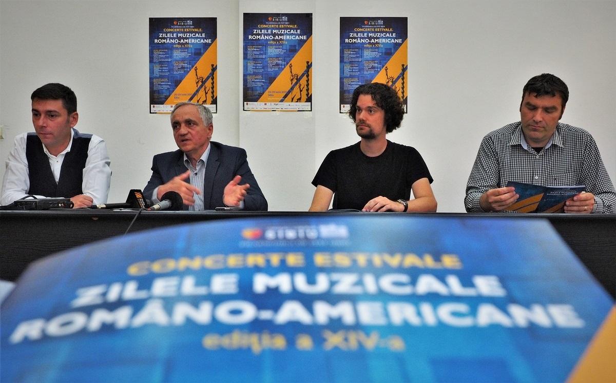 Zilele Muzicale Româno-Americane vor anima Sibiul timp de zece zile