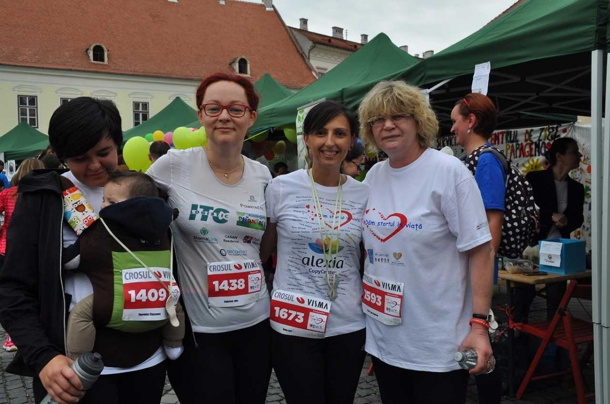 De la dreapta la stânga: Livia Ognean, Oana Jurj, Carmen Hila