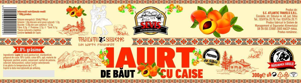 Autentic sibian. Unicat în industria de lactate din Sibiu: Fabrica Seviş lansează iaurtul de băut cu fructe