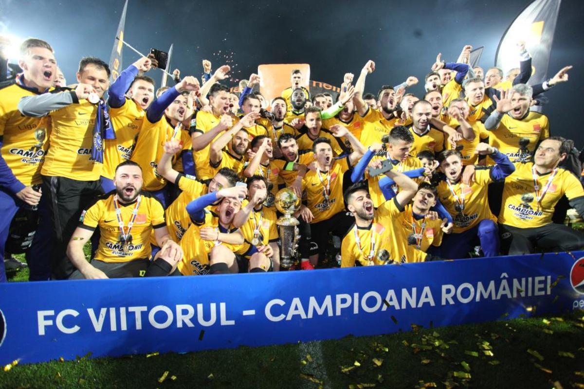 Confirmare de la TAS: FC Viitorul este campioana României