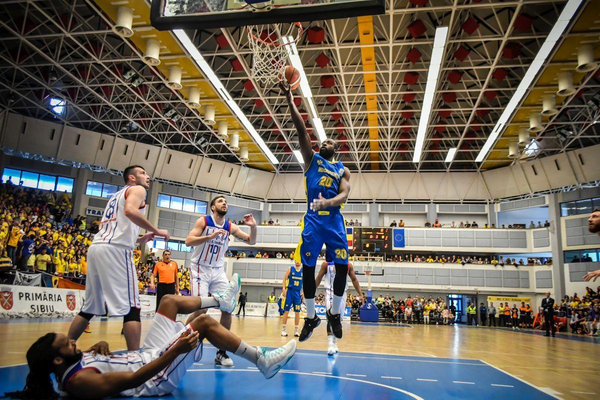 FIBA Europe Cup: CSU Sibiu debutează acasă, pe 20 septembrie. Se cunosc posibilii adversari!