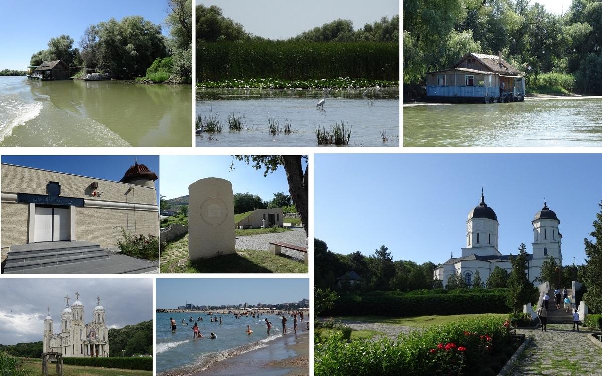 Ocolul Dobrogei în 80 de ore! Deltă, plimbare pe canale, plajă, mânăstiri şi fiţe de Mamaia