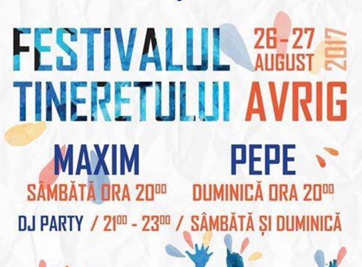 """""""Festivalul Tineretului"""" de la Avrig, pregătiri pe ultima sută de metri"""
